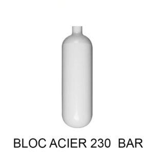 BOUTEILLE ACIER 230 BAR