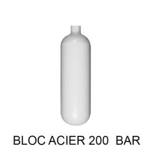 BOUTEILLE ACIER 200 BAR